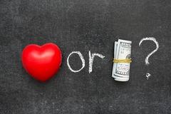 geld of liefde